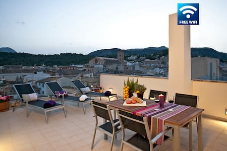 Lovely apartment in the heart of Pollensa PURPLE