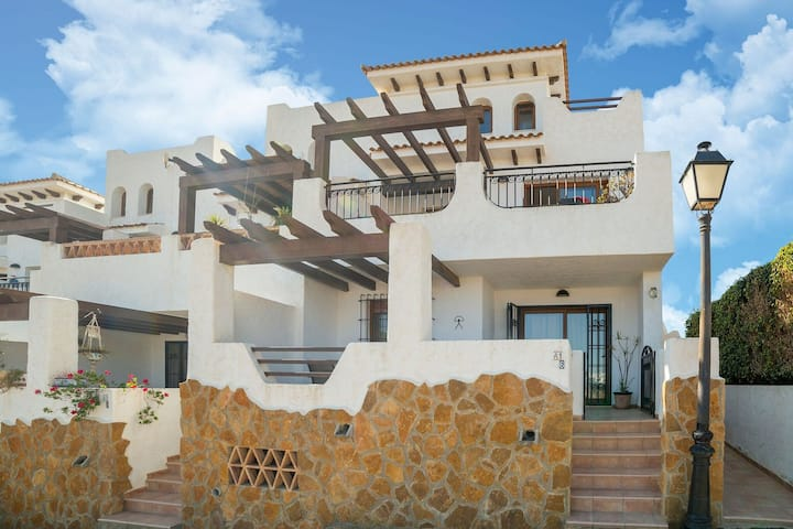 Charming Apartment in Palomares with Private Terrace