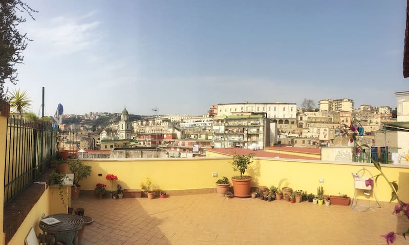 Amazing house with rooftop, private bathroom. - Napoli - Daire