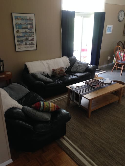 First floor Living room with TV