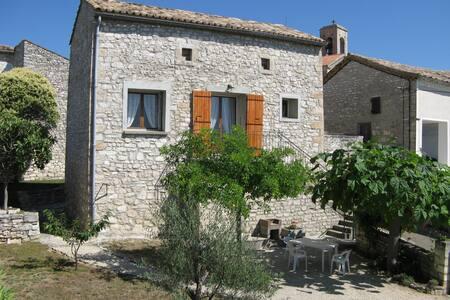 Maison traditionnelle en pierres - Orgnac-l'Aven - House