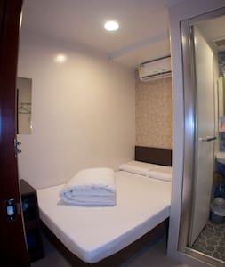 Cozy Double Room @ Mong Kok City Centre旺角區舒適雙人大床房 - Hong Kong - Bed & Breakfast