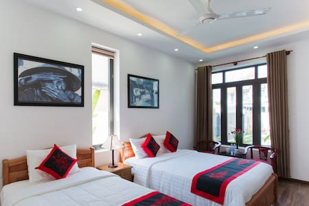 Deluxe Family Room with AC & Breakfast #201 - Hội An - Bed & Breakfast