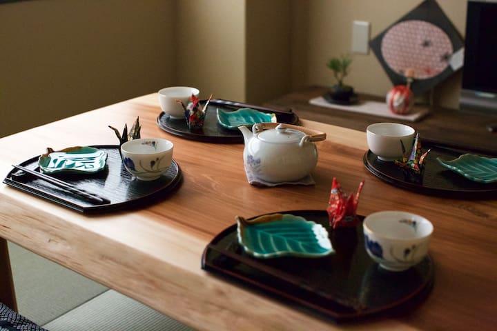 6min Kobe Sta! Traditionl Japanese interior design