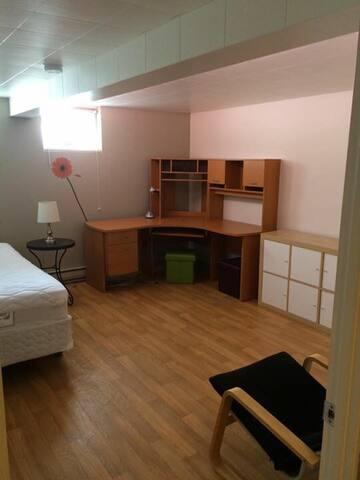 Ch. ds appt très confortable - Saguenay - House