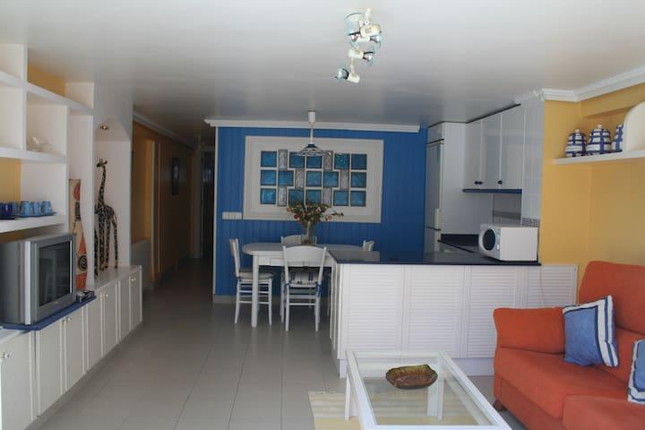 Apartamento en Playa de Berria Abajo - Santoña - Daire