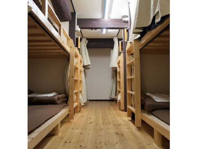 【1min->Gojo Subway Station】Standard bunk bed room