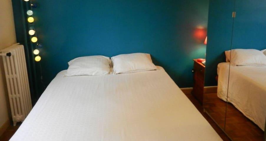Chambre pour 2, accueillante et pratique