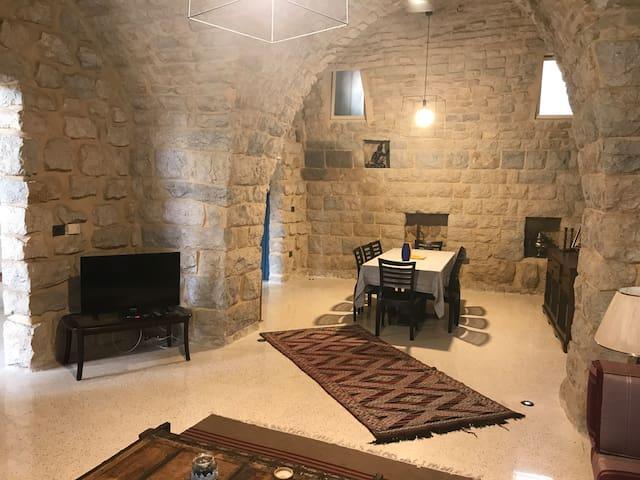 An Enchanting Traditional Lebanese House