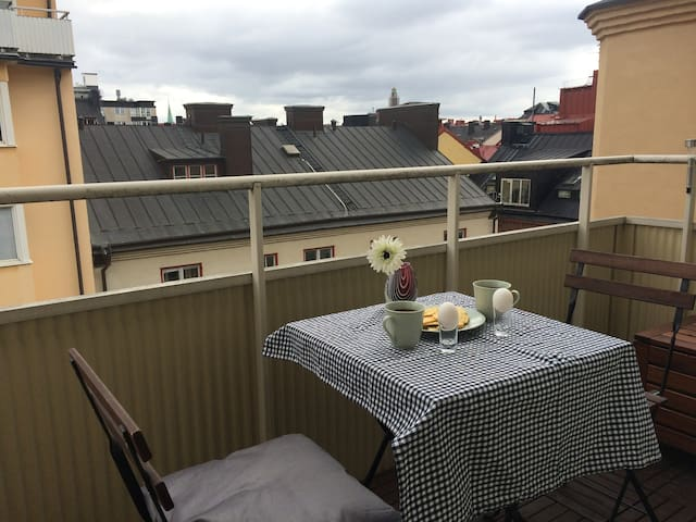 City Centre apartment with balcony