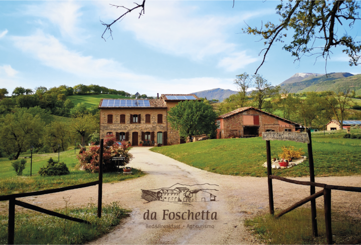Da Foschetta: B&B, nature and wine