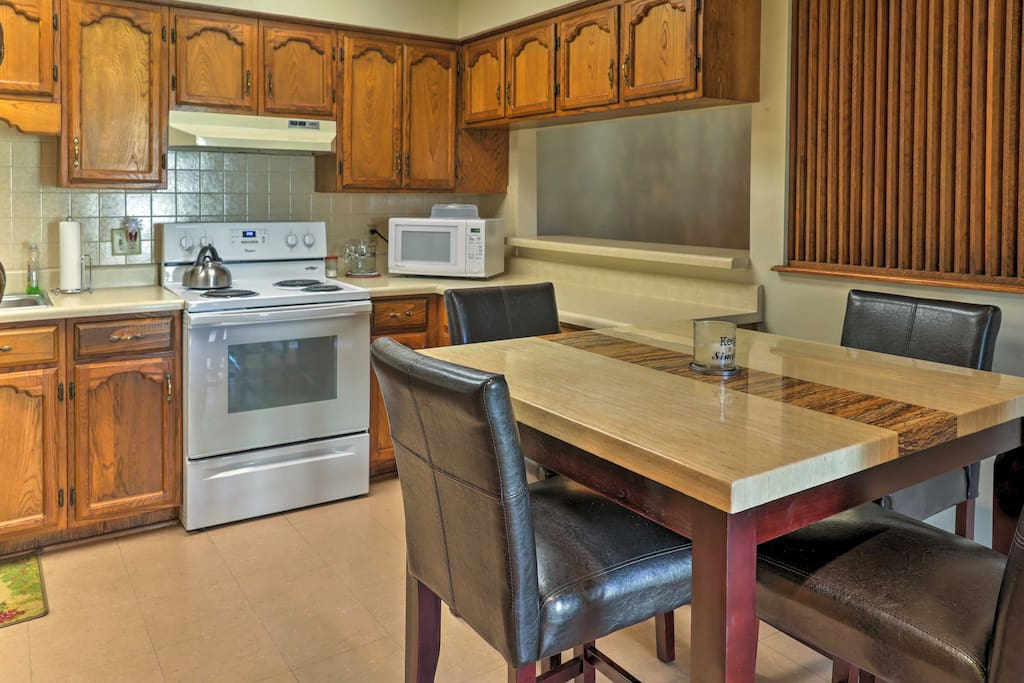 You'll enjoy the ease of home-cooking and modern amenities.