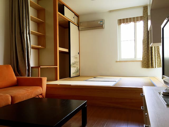 A-LA DING  静安寺 和风两室 - Shanghai - Appartement