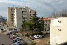 Seaside view apartment, very close to beach, 54m2