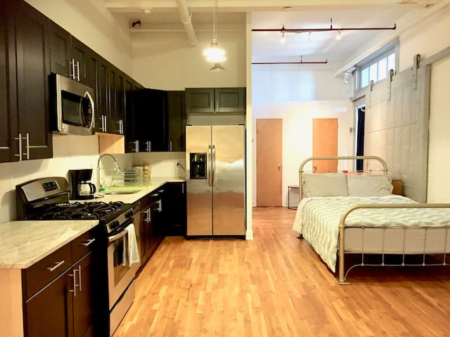 Studio Accommodations in Loft