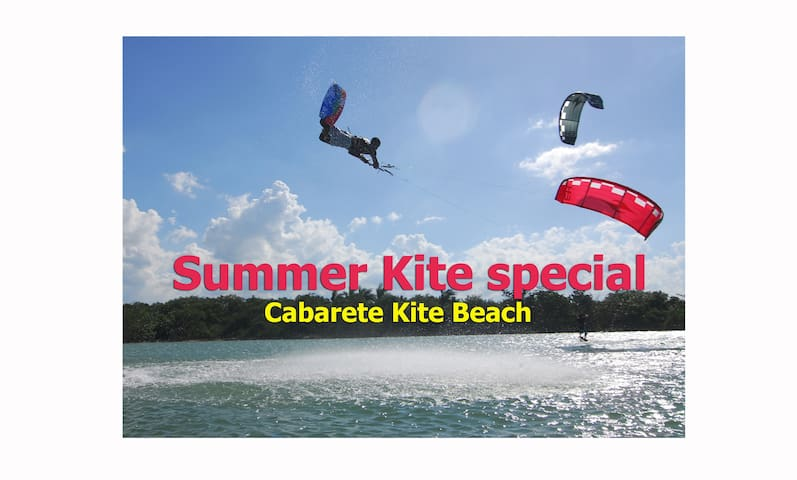 103 one bed Apt. airco/pool kiteboarder special