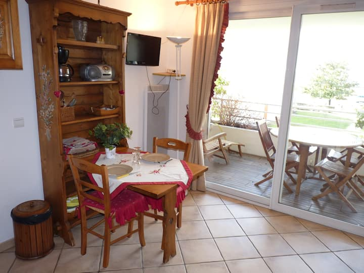 Joli studio bord du lac du Bourget à Aix les Bains