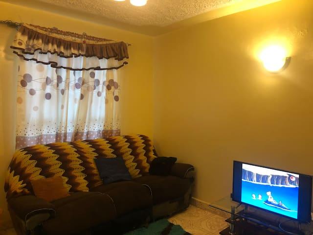 Fully furnished apartment near UN and Nairobi CBD