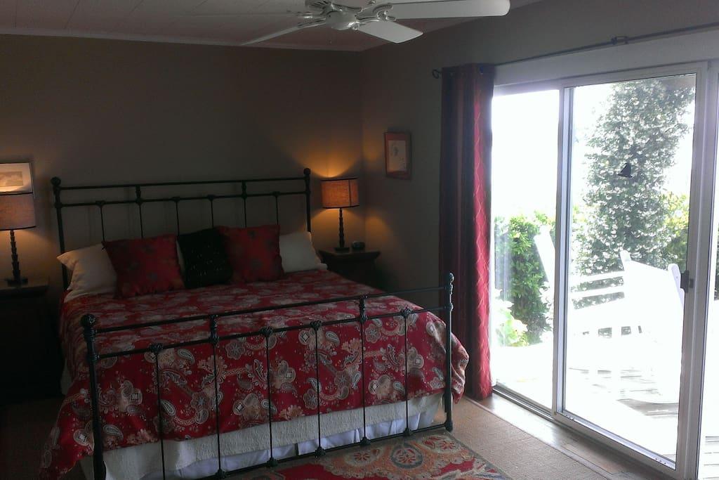 Master bedroom with en suite bath.