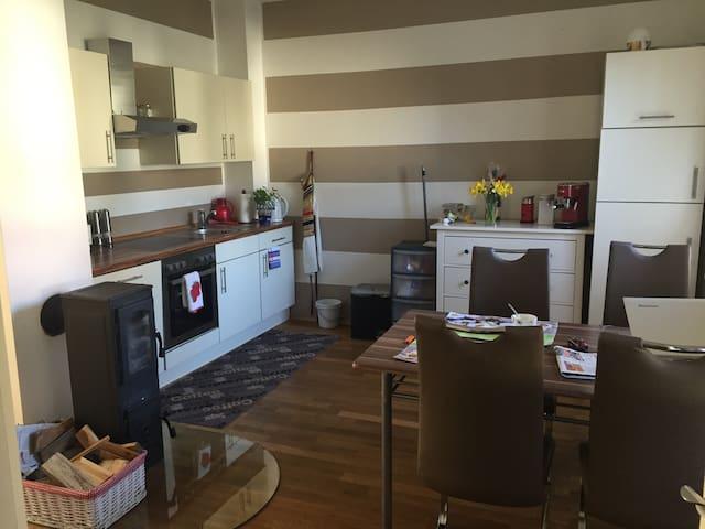 Messe-Apartment mit Blick ins Grüne - Hemmingen