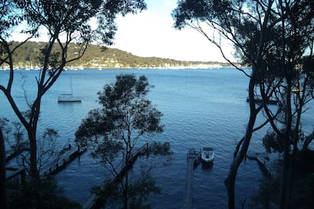 Luxury Island Waterfront Pittwater - Scotland Island - บ้าน