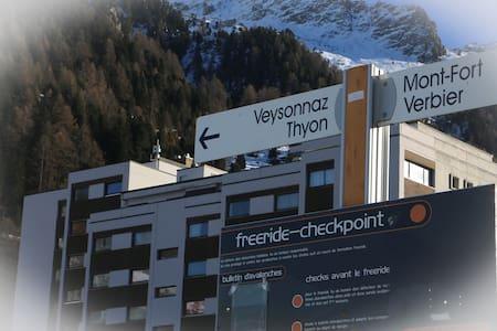 Beautiful studio on ski slopes renovated in 2016 - Nendaz