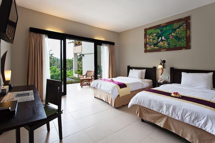 Calm twin room in Lombok - Batu Layar - Lägenhet