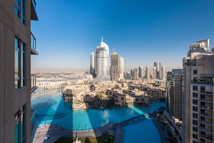 Premium Apartment at Burj Khalifa & Fontain View