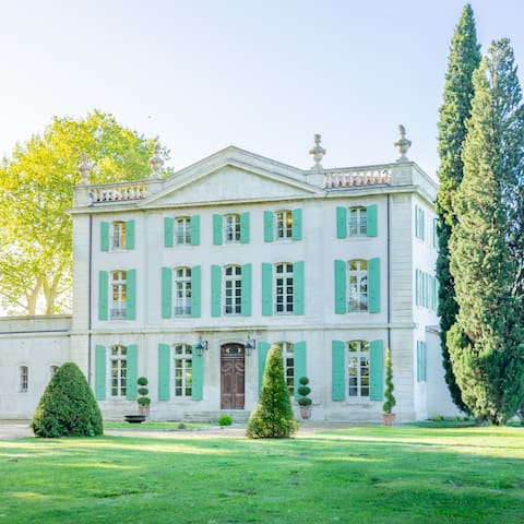 Château north-side view