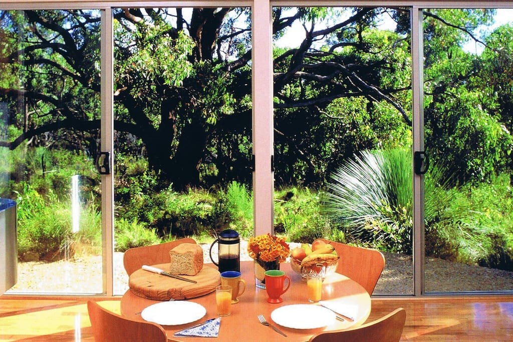 Breakfast with nature at your door step