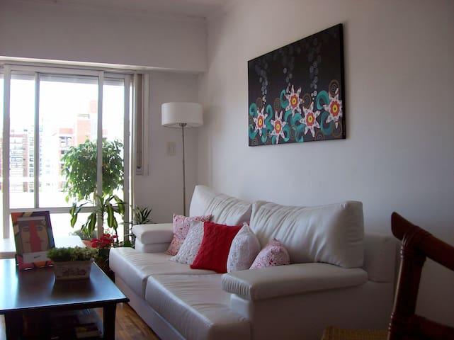 HABITACIÓN EN DEPARTAMENTO MUY ALEGRE Y CENTRICO - Rosario - Apartemen