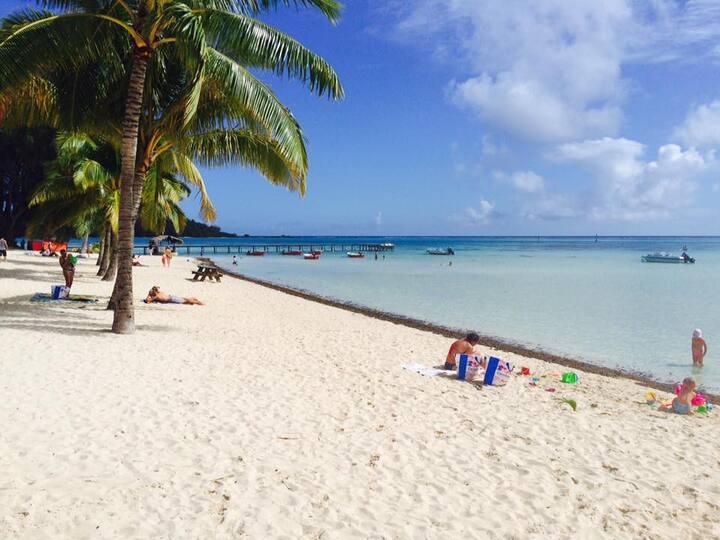 Beach de rêves de Moorea