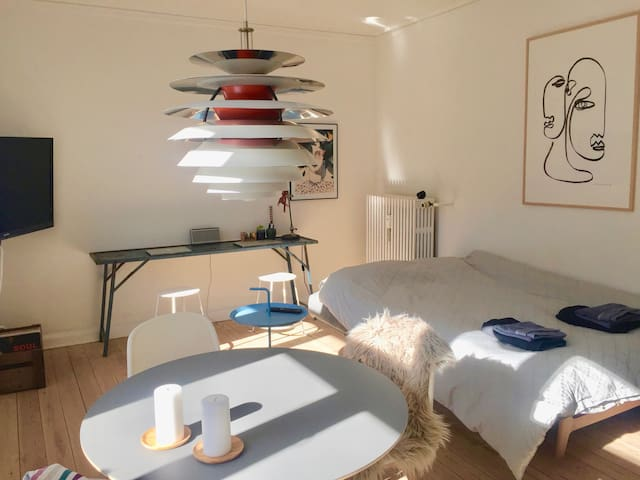 Apartment full of light in Centre of Aarhus