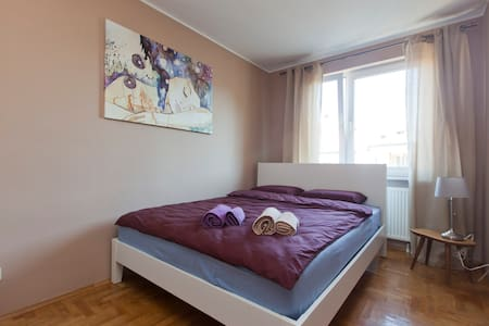 Cozy room for couple or one person. - Wrocław