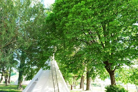 Tipi Camp - Allotjament rural - 塞瓦 (Seva) - 圆锥形帐篷