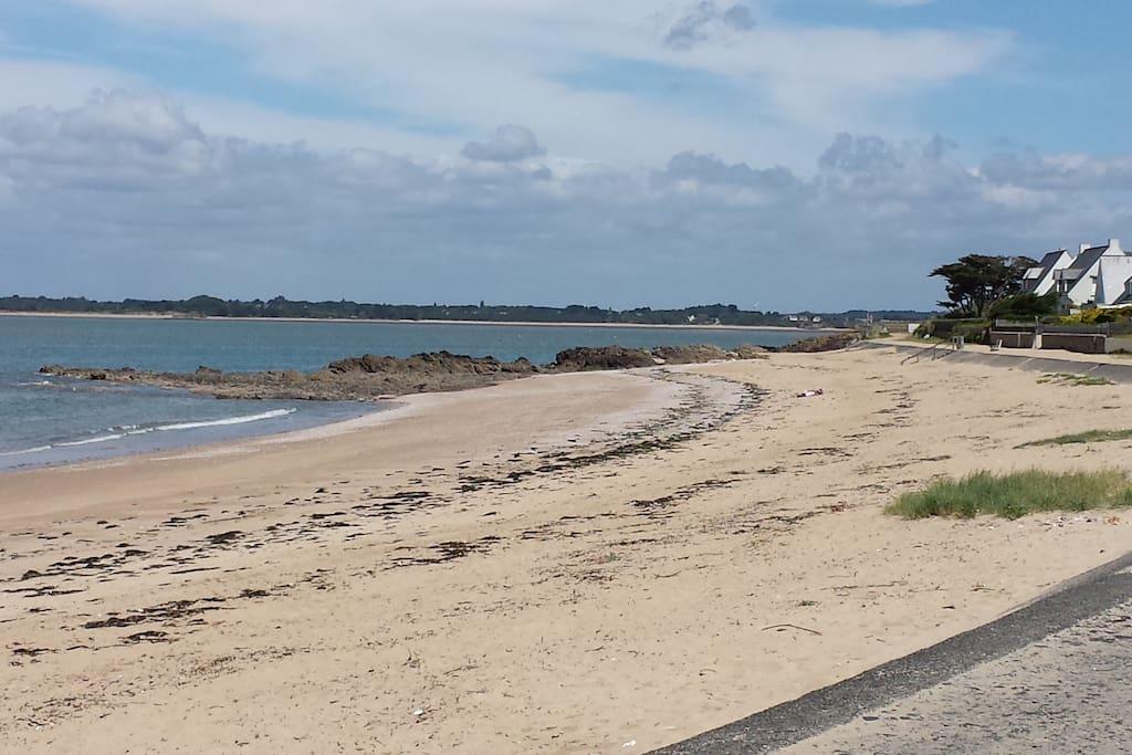 La belle plage de Sorlock