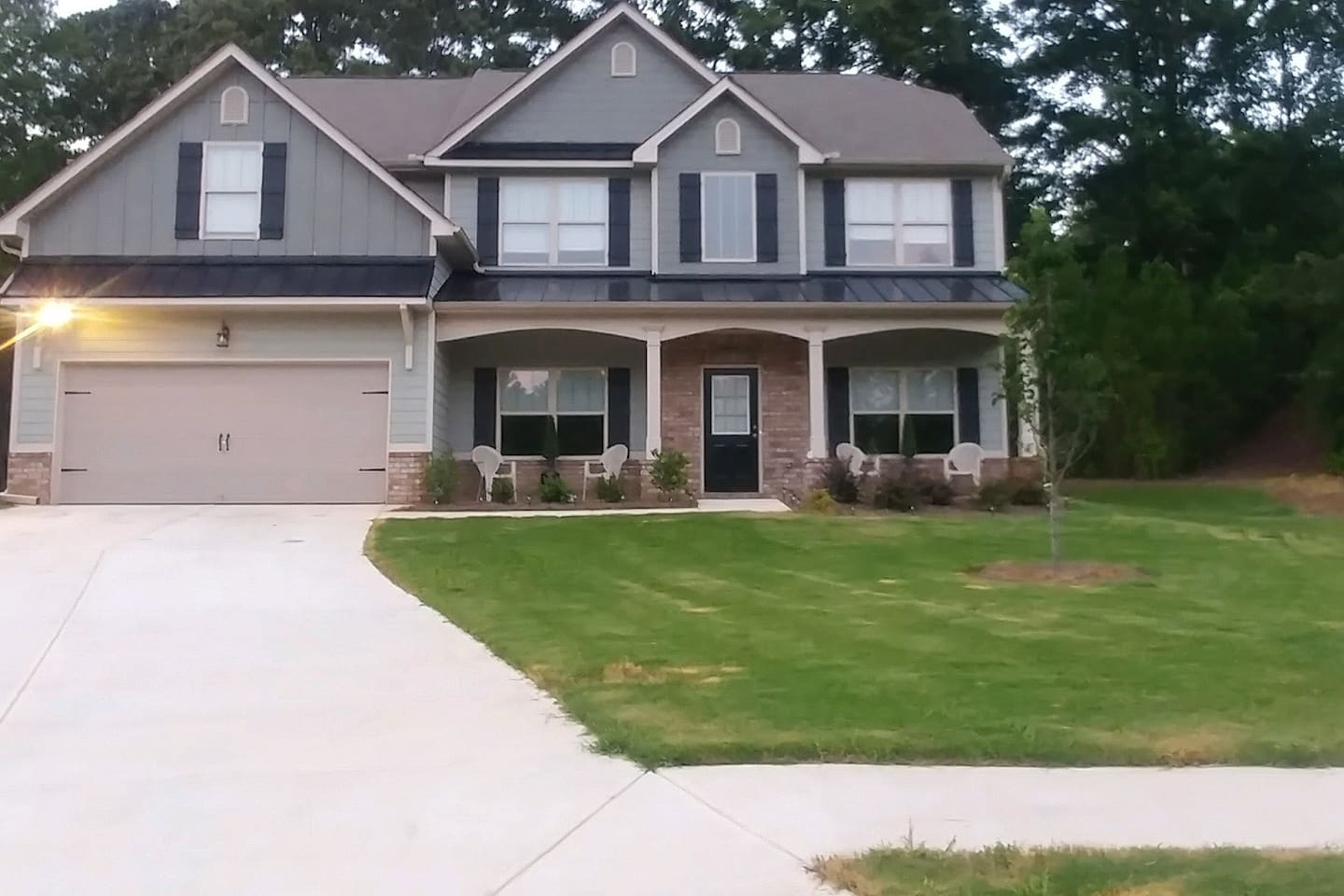 Super Bowl Fans gather here! Luxurious executive home w/ private rooms & shared common space available.