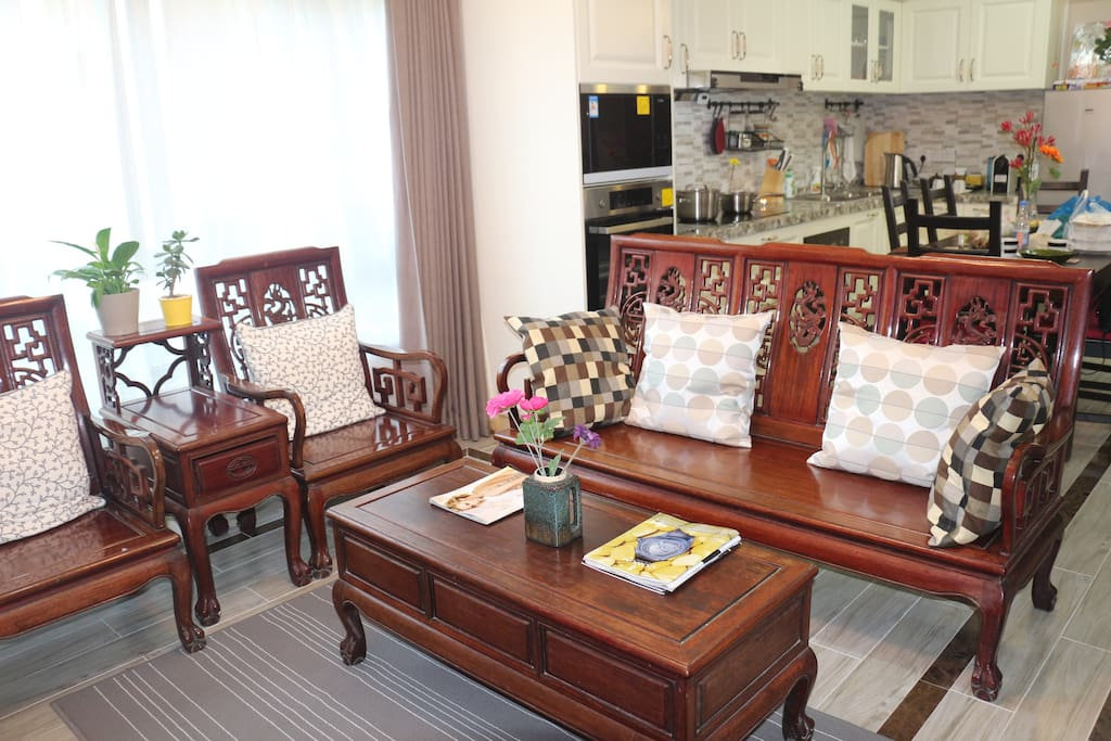 Chinese style furniture living room 中式傢俬客厅