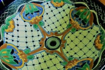 HAND PAINTED PORCELAIN SINKS