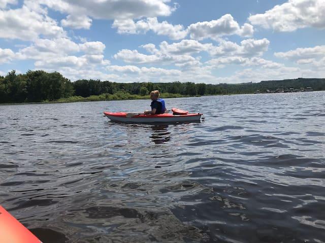 Chalet sur la rivière