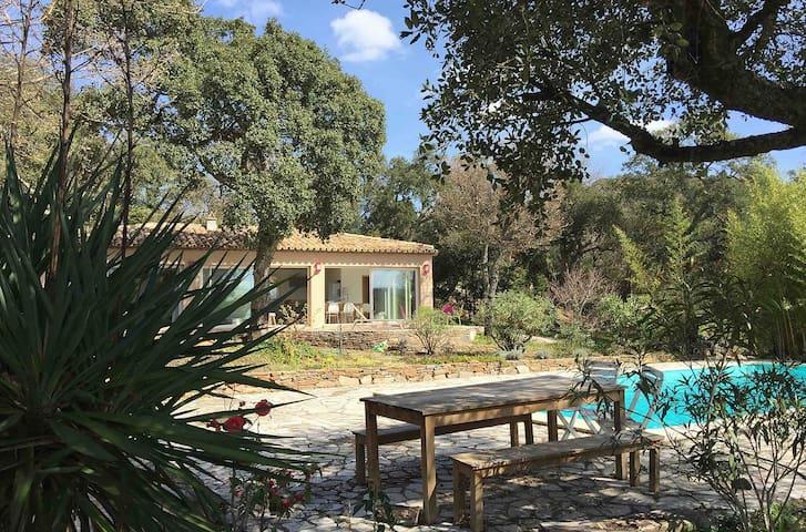 Maison de charme Golfe de Saint Tropez Grimaud - Grimaud - Casa