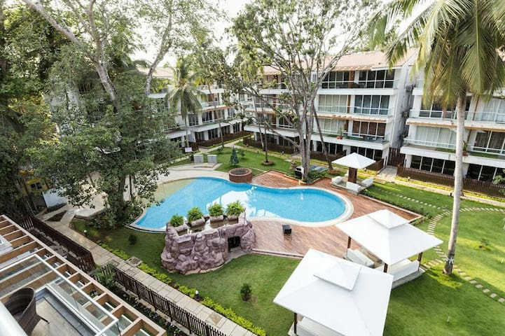 Calangute Beach Goa 9 * 1 Bedroom Apartments - North Goa - Appartement