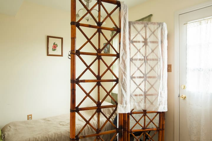 Semi private space in cozy home