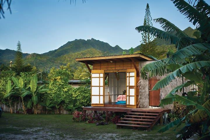Te Arerenga Boat shacks