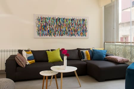 Stunning Modern Apartment in MarMikhael + Parking - Beyrouth