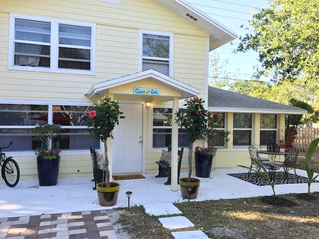 Beautiful Cozy Retreat! Casa Del Sol! 1bd 1bth Gem - Hobe Sound - Milik mertua