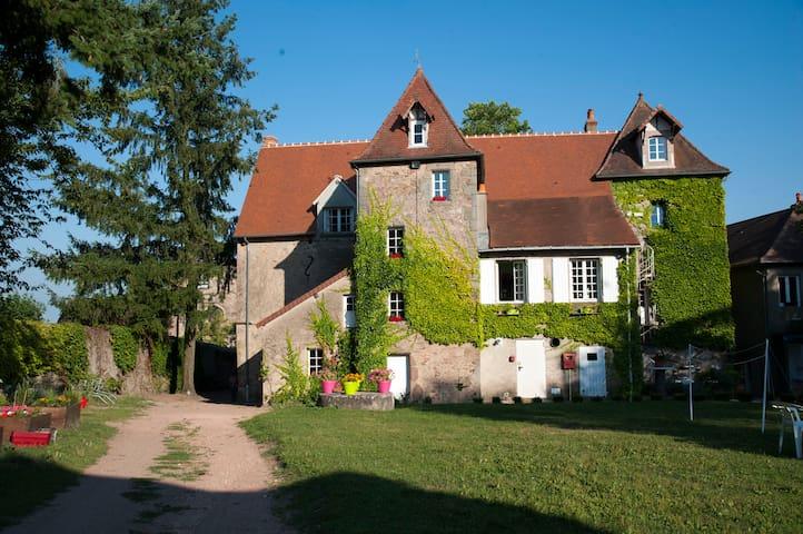 Manoir La Grand ' Cour - Campagne - Auvergne - Lenax - Casa