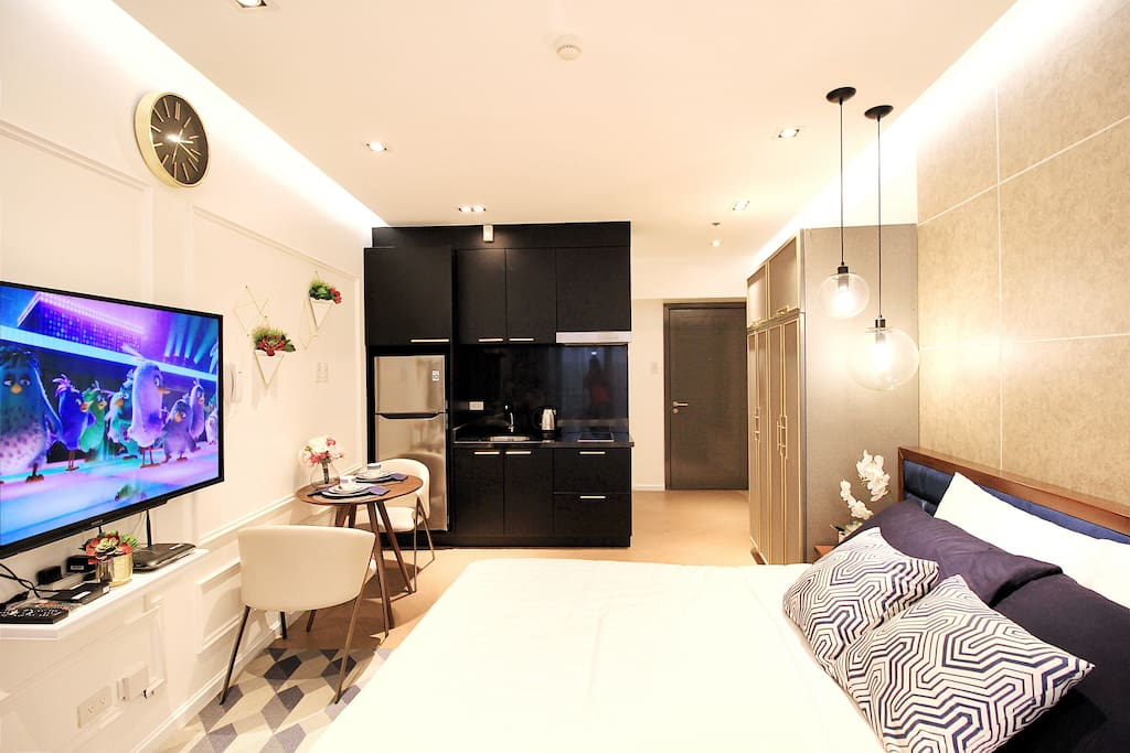 Designer Modern Luxe Flat with excellent interiors to give you a five-star hotel ambiance