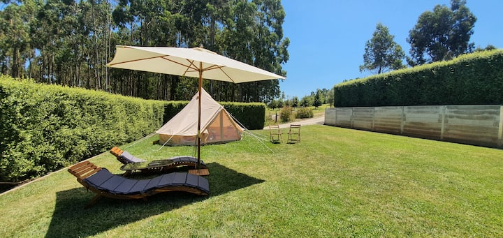 Glamping in an Olive Grove [Tent One]