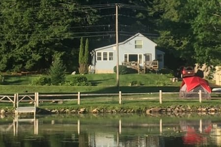 Lakefront Cottage on Brewer Lake - sleeps 6